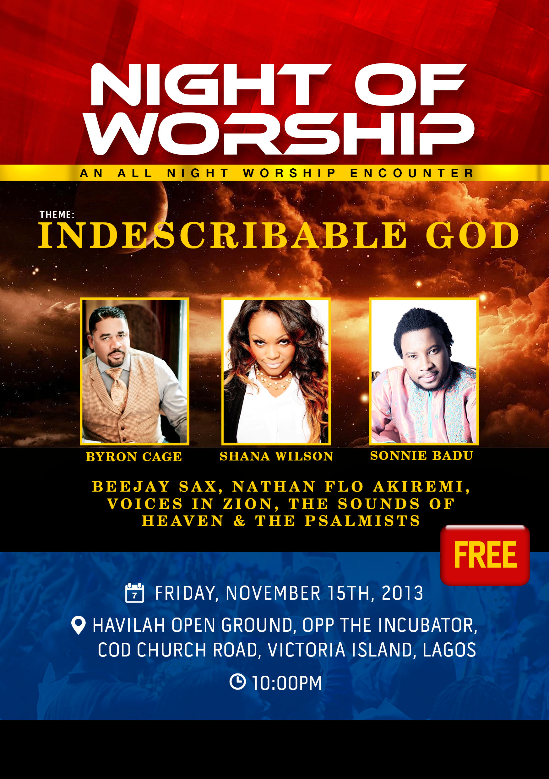 RCCG'S Night of Worship > Lagos> 15 November 2013 | Perspective