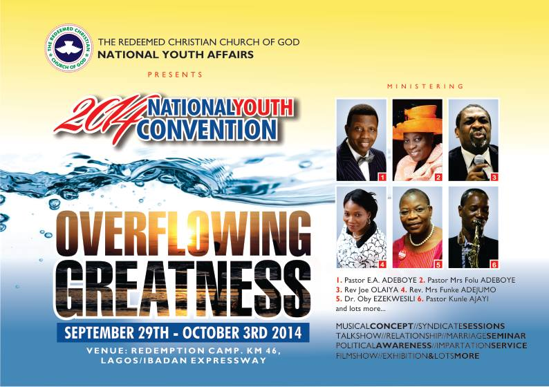RCCG 2014 National Youth Convention