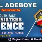 Pastor Adeboye in PH 2015