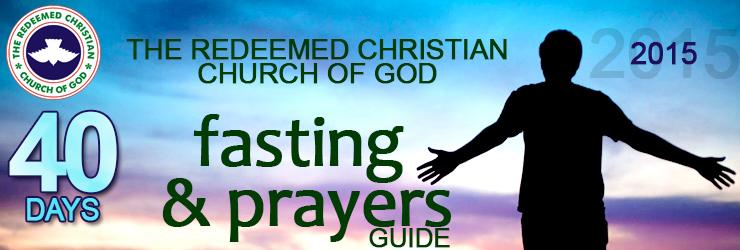 RCCG 40days fasting 2015