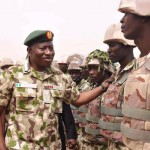 Pres. Goodluck Jonathan visits troops in Baga, Mubi  (11)