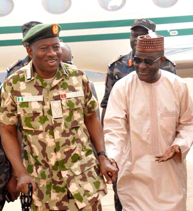 Pres. Goodluck Jonathan visits troops in Baga, Mubi  (14)