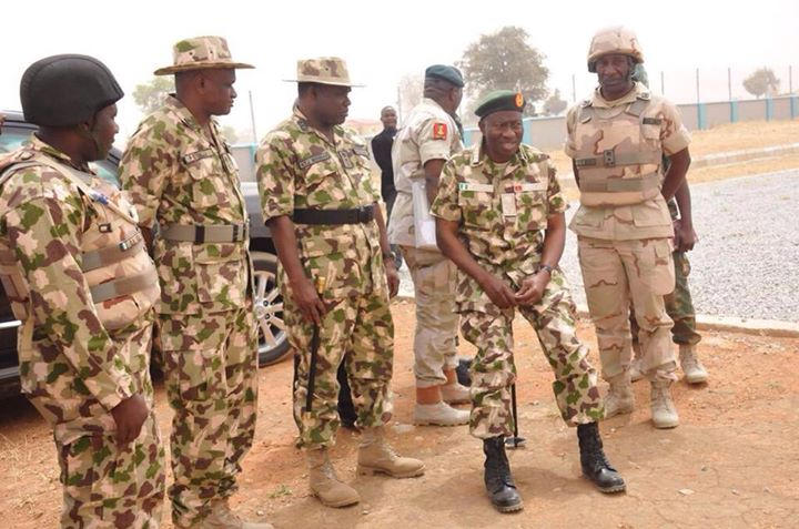 Pres. Goodluck Jonathan visits troops in Baga, Mubi  (5)