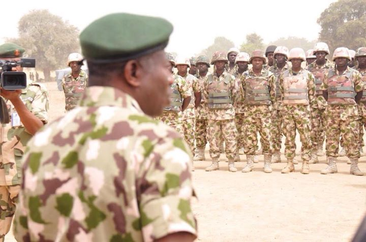 Pres. Goodluck Jonathan visits troops in Baga, Mubi  (7)