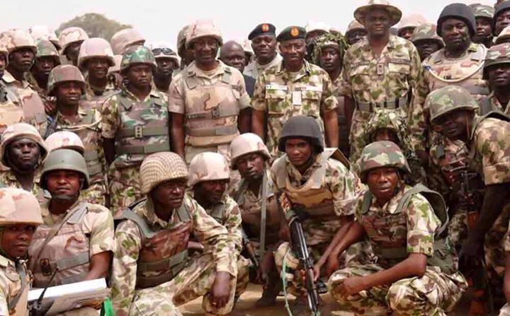 Pres. Goodluck Jonathan visits troops in Baga, Mubi  (9)