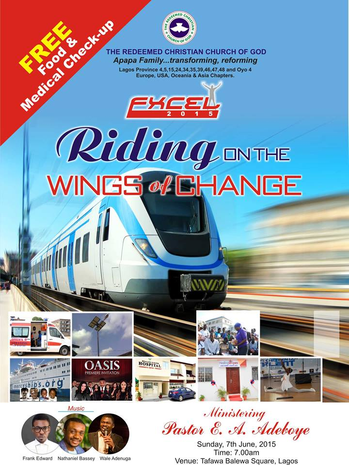RCCG  EXCEL 2015