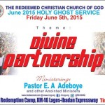 RCCG June 2015 Holy Ghost service