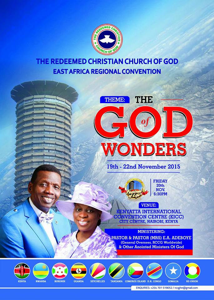 RCCG East Africa Convention 2015