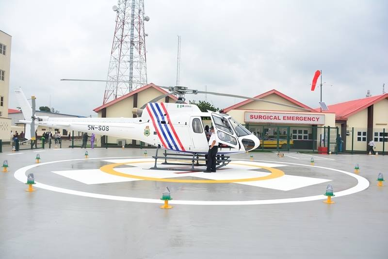 Helipad for medical emergency by Giov Ambode (4)