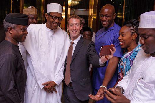 President Buhari receives Facebook founder Mark Zuckerberg 2
