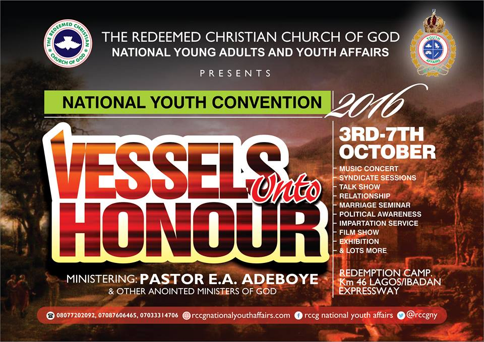 RCCG 2016 National Youth Convention