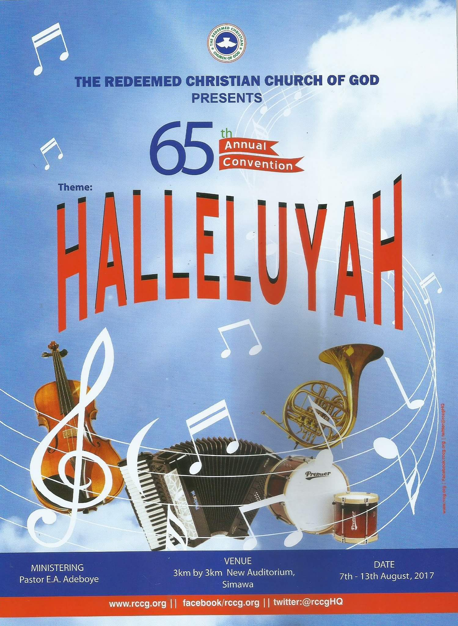 Image result for Halleluyah convention 2017