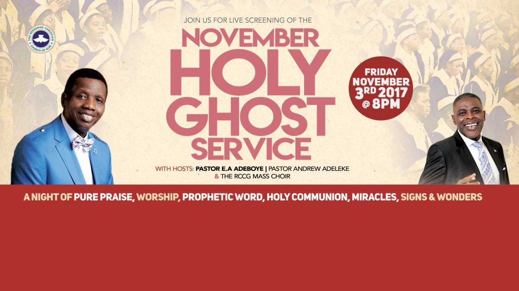 Watch Live Rccg Holy Ghost Service Perspective Autos Post