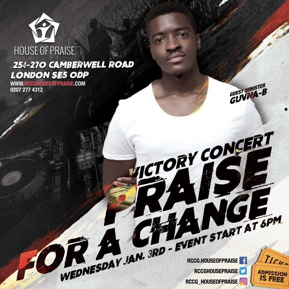 RCCG House of Praise London – Victory Concert