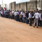 Thousands show up for Lagos auditions of Nigerian idol season II