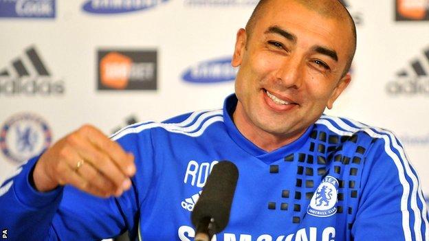 Roberto Di Matteo. Photo Credit: BBC