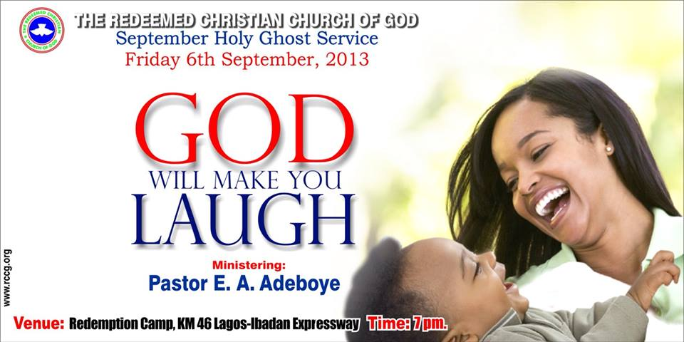 RCCG September 2013 Holy Ghost Service