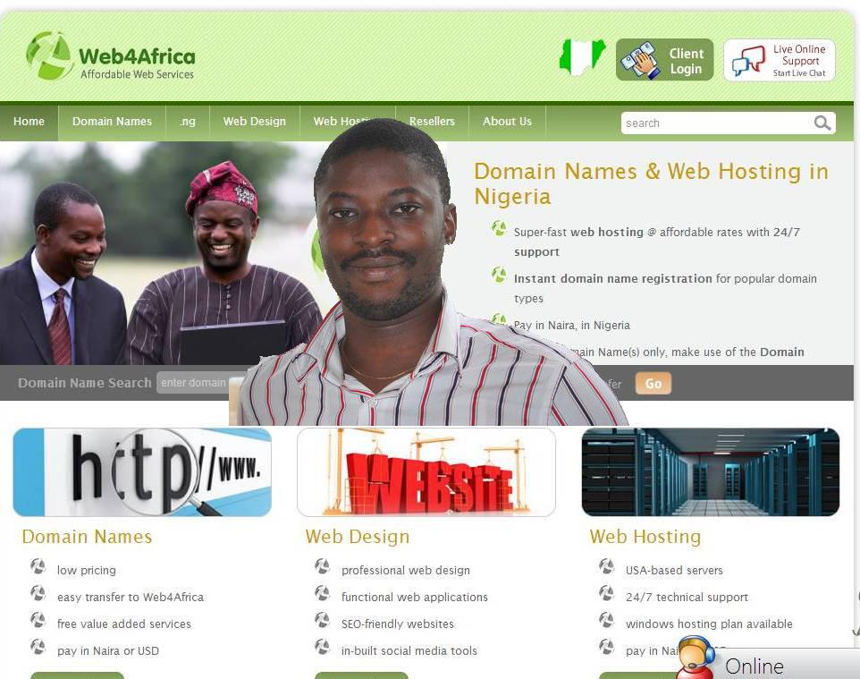 web4africa webhost2