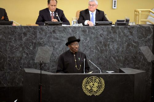GEJ at UN September 2013