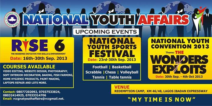 RCCG Youth Affairs 2013