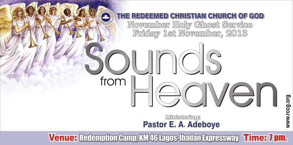 RCCG November 2013 Holy Ghost Service.