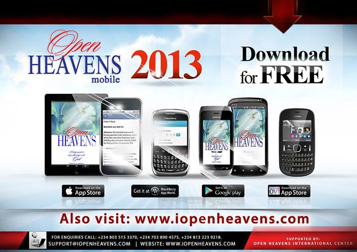 Download Open Heavens 2013