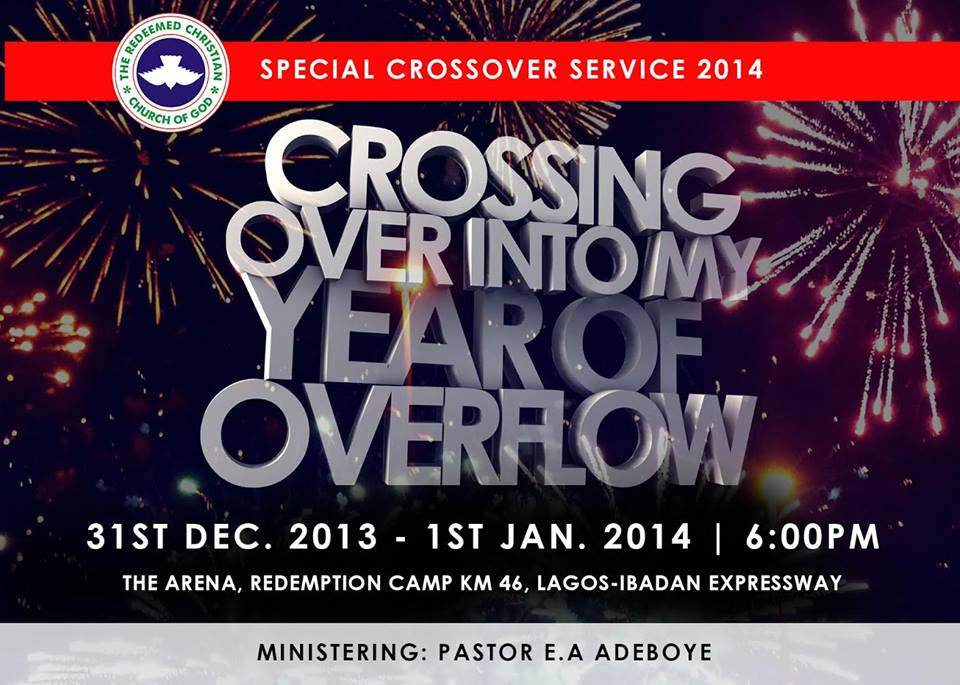 RCCG Watch Night Service 2013-14