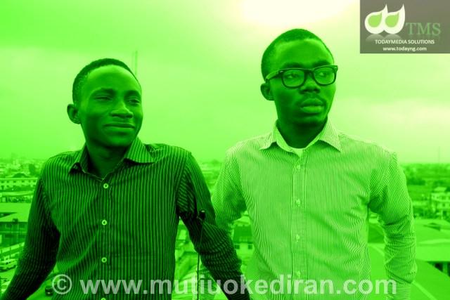 Temitayo Olufuwa & Dele Bakare, Founders, Jobsinnigeria.Com.Ng