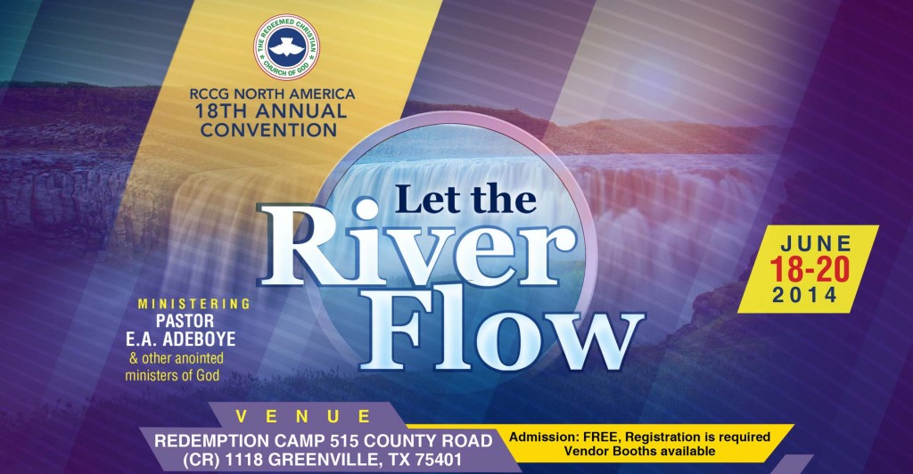 18th Annual RCCGNA Convention 2014