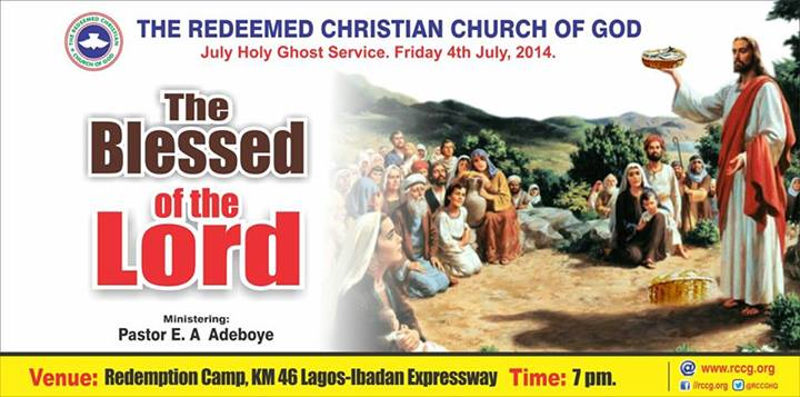 RCCG Holy Ghost Service July 2014