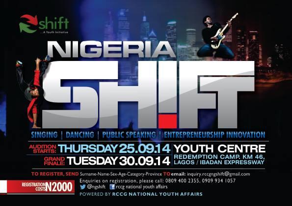 RCCG SHIFT 2014 NIGERIA EDITION