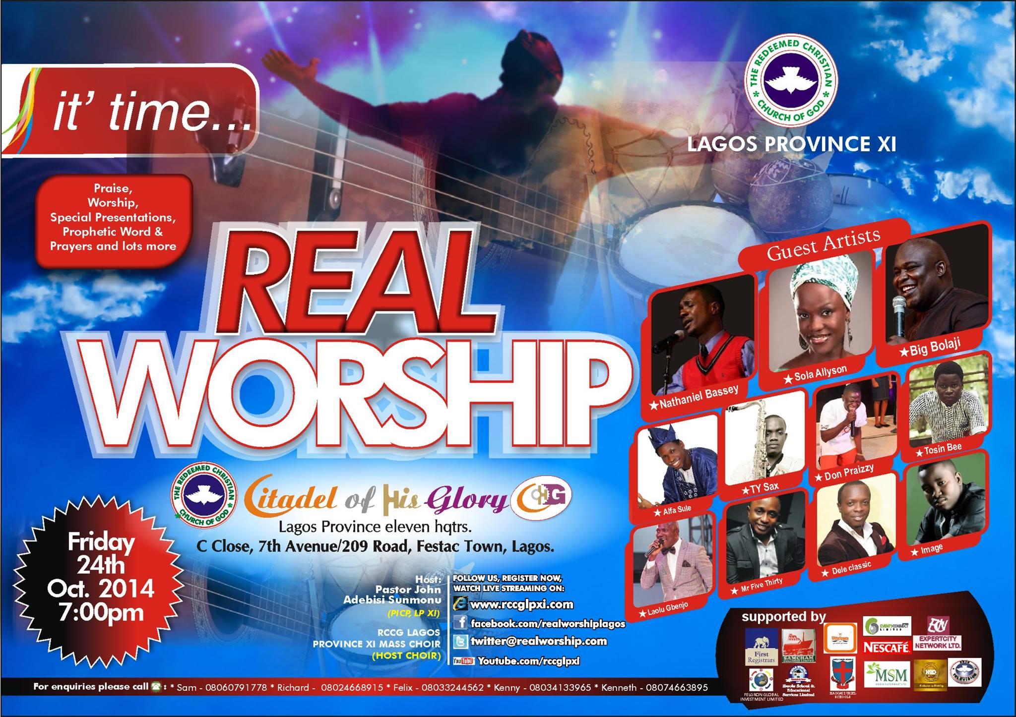 RCCG Lagos Province 11 REAL WORSHIP 2014