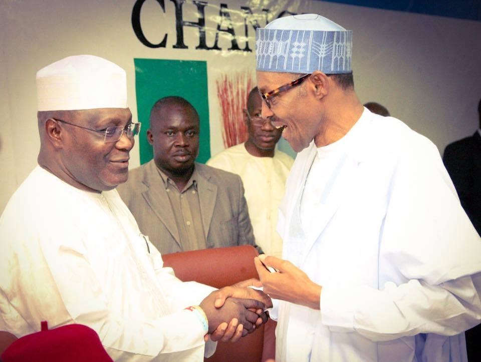 Atiku congratulates Buhari