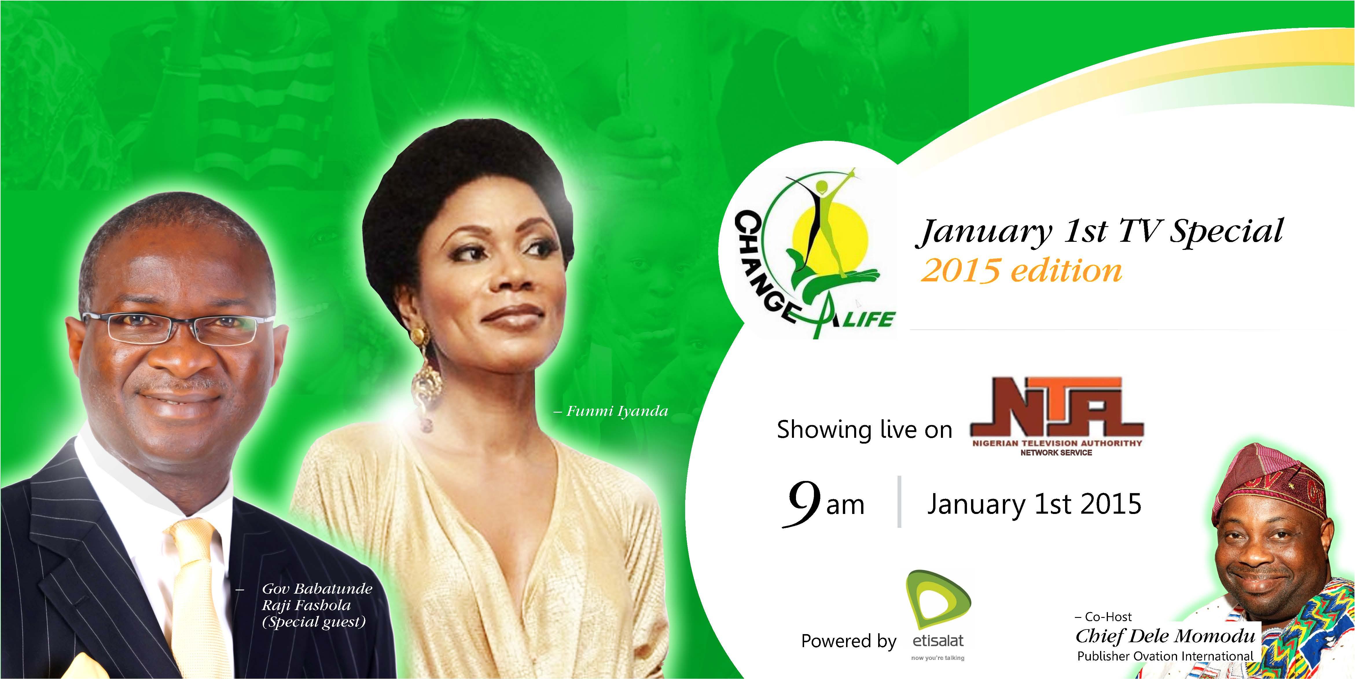 Change A Life Nigeria TV show 2015