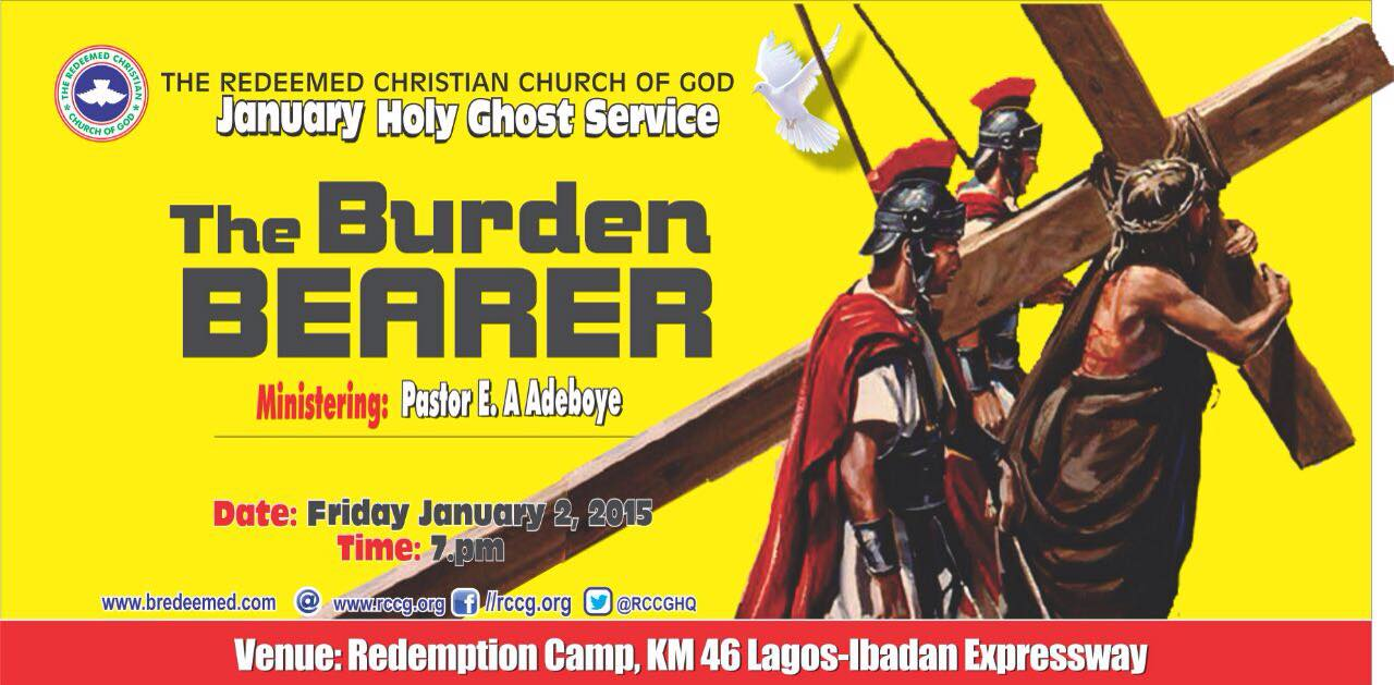RCCG Holy Ghost Service January 2015
