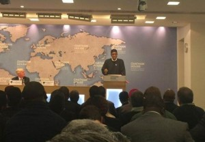 Buhari at Chatham House  26th March 2015