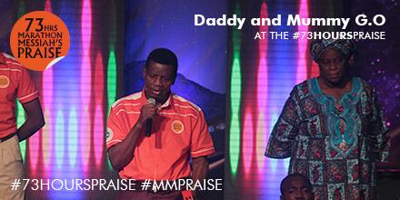 Pastor E.A Adeboye's Blessings @ 73 hours Marathon Messiah Praise (1)