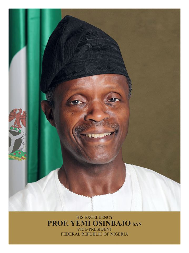 Prof Yemi Osinbajo Official portrait
