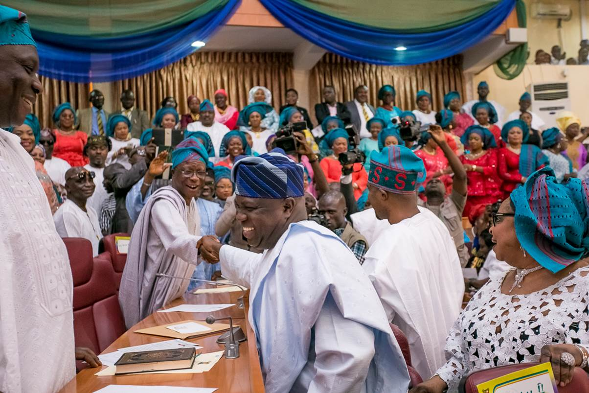Governor Ambode Proclaims 8th Lagos State House of Assembly (2)