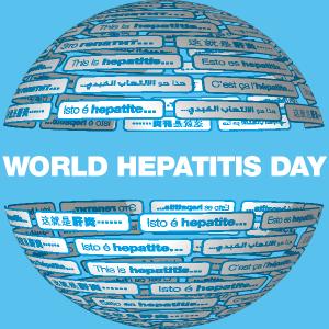 Hepatitis day logo