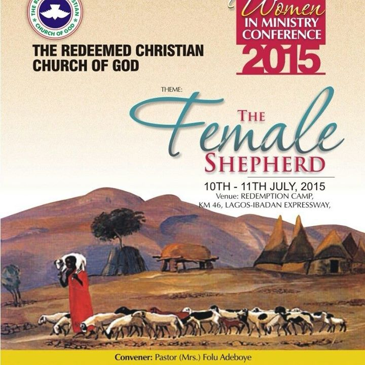 RCCG 2015 national female in ministry conference