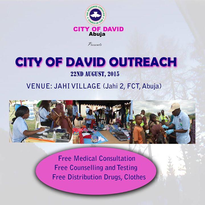 RCCG City of David outreach Aug 2015
