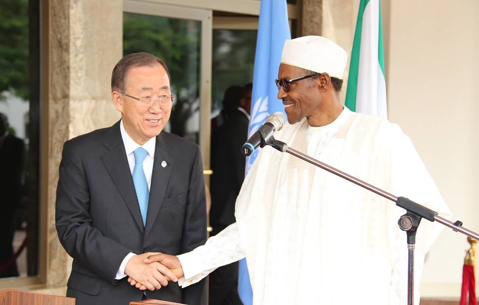United Nation's Secretary General Mr Ban KiMoon 24th August 2015 (4)