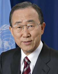 Ban Ki-moon Secretary-General, United Nations.
