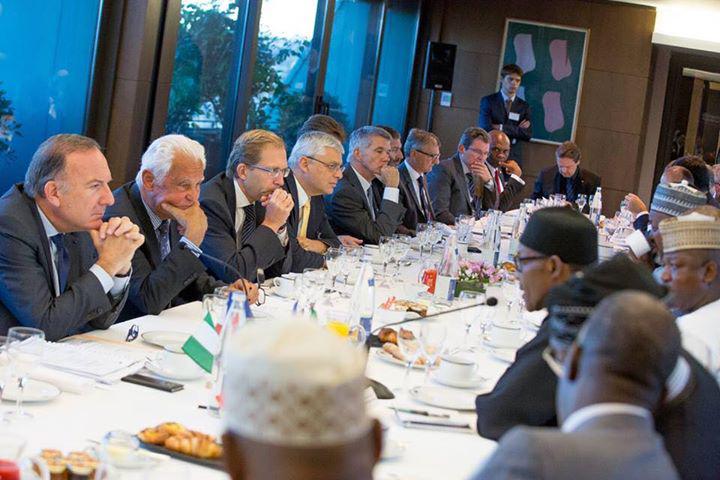 Buhari in France Sept 2015