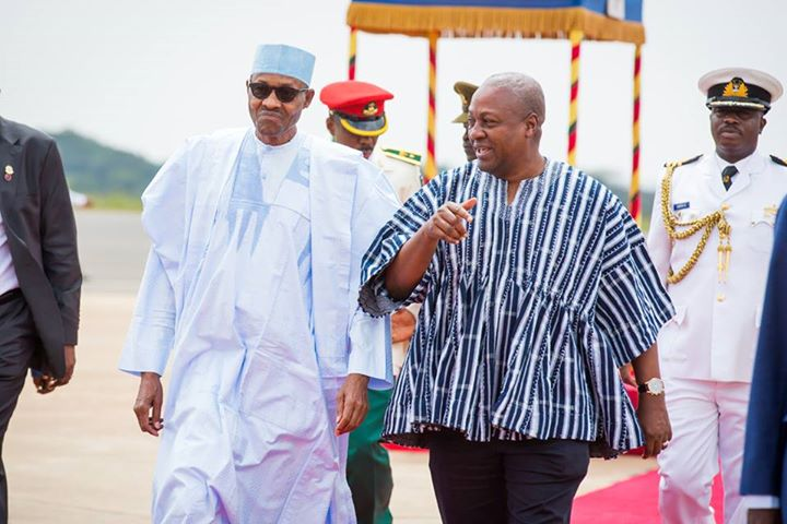 President Muhammadu Buhari visit to Ghana 7th September 2015 (4)