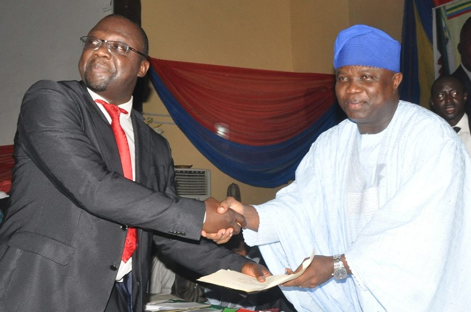 Ambode swears in commissioners 19th October 2015 (11)