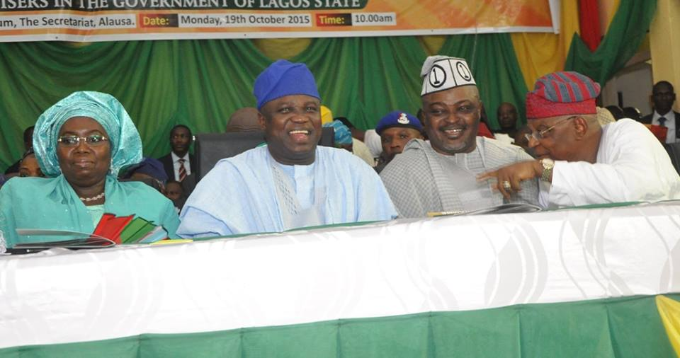 Ambode swears in commissioners 19th October 2015 (4)