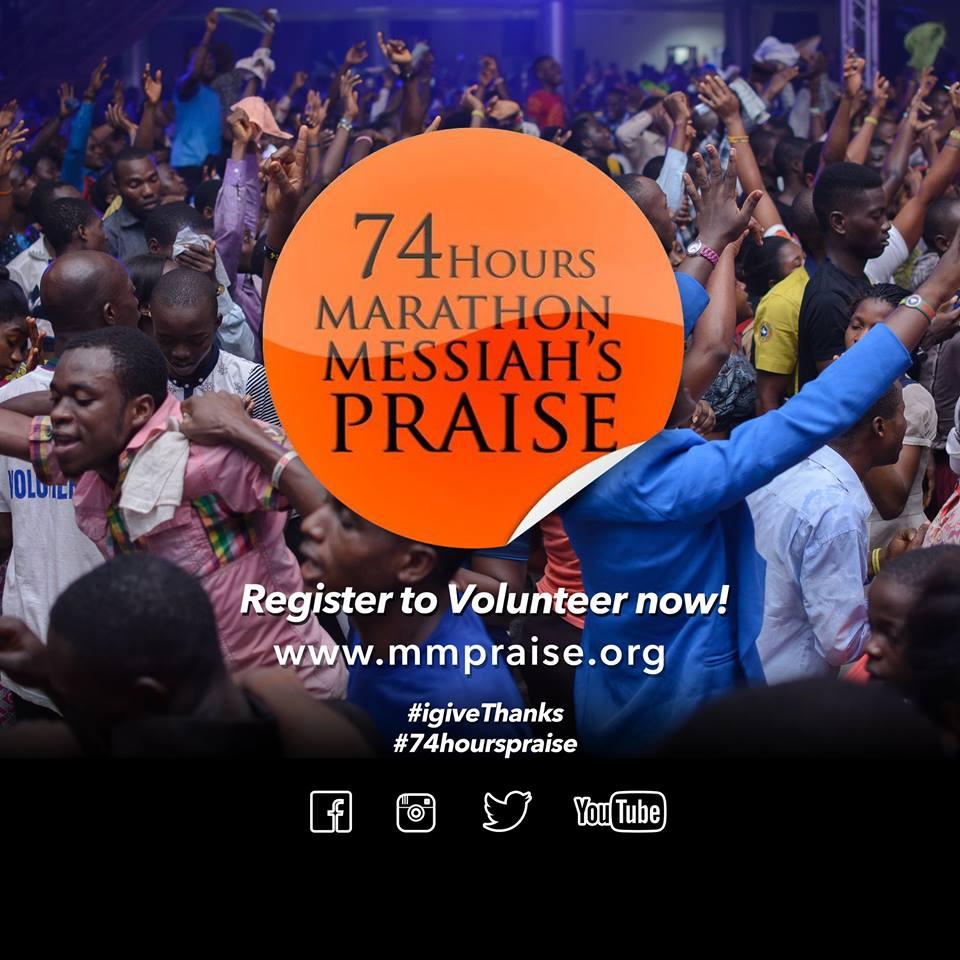 74hours marathon praise