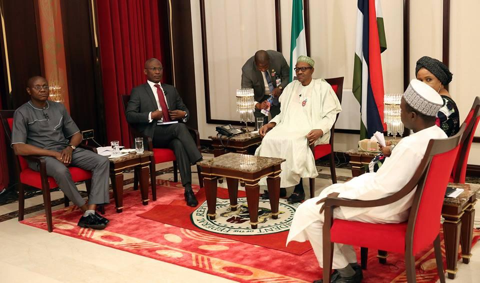 President Buhari first Presidential Media 30 December 2015 (6)